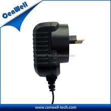 AU plug ac dc wall mount 9v 500ma switching power adapter