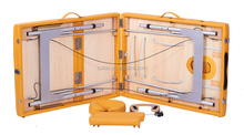 Adjustable Aluminum Massage Table with Top Materials