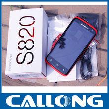 Lenovo mobile phone lenovo s820 white/red cell phone promotional lenovo s820 smartphone dual sim card standby mobile phone