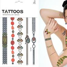 Hot nouveaux produits pour 2015 bijoux 3D peinture pour autocollant de tatouage, Poudre