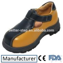 nuevo estilo de ortopedia de cuero genuino zapatos de bebé