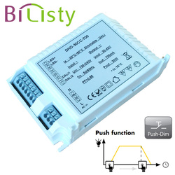 40W constant current push dimming led driver 700mA