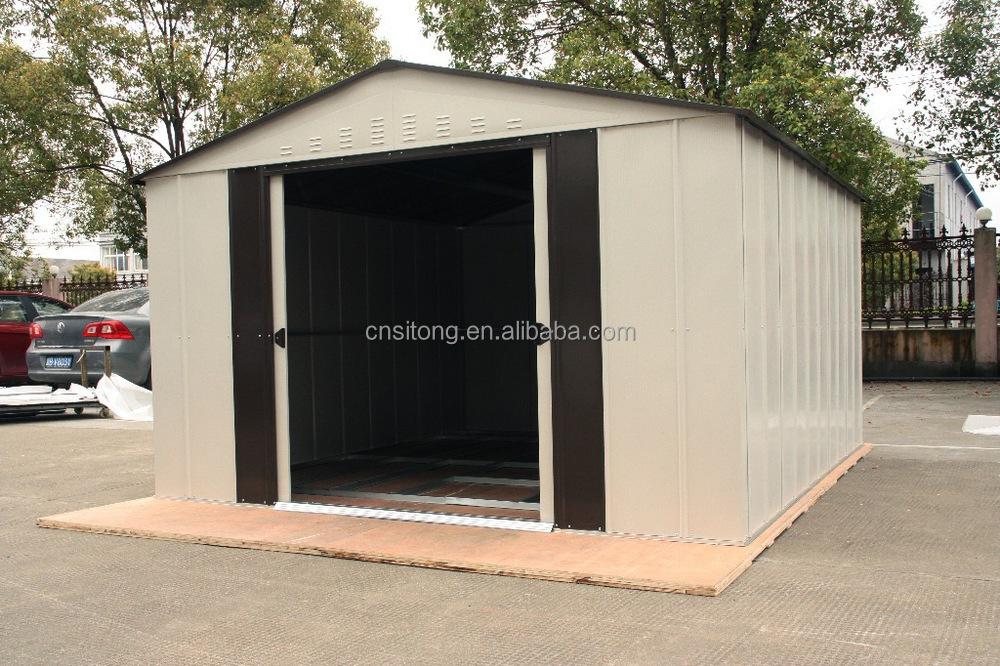 Unique design metal outdoor storage shed buy outdoor for Unique garden sheds designs