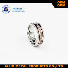 New Model Carbon fiber Stainless Steel Ring with comfort fit inside