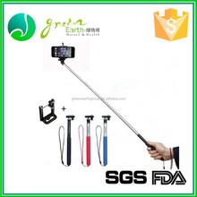 2015 wholesale cartoon chanel mini wired monopod wireless monopod Shutter Bluetooth selfie stick