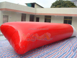 top selling and good quality inflatable blob, inflatable water jumping pillow