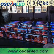 Modern city advertising method p5 taxi top led video display