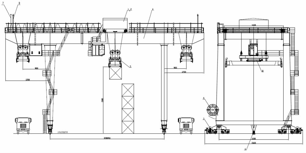 Ship To Shore Gantry Crane Nedir : Industrial use ship to shore quayside container gantry