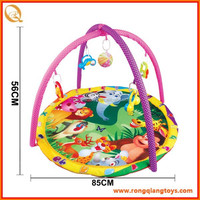 Hot selling plush baby play gym mat FN7519814-4