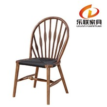 Cafe and Restaurant Chair Classic Design Wood Furniture Han Wegner Elbow Wooden Chair Peacock Chair A013