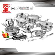 27 pieces ilag pan super capsule bottom cookware CYCS527B-2B