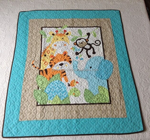 Handmade Technics and Baby Quilt Size Cotton Baby Quilt