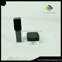 High quality high value 30ml square lotion bottle with spray pump