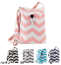 Cell phone wide space Long strap shoulder bag for girls