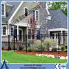 Ornamental custom wrought iron fence designs for garden