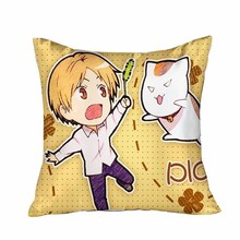 New Natsume's Book of Friends Anime Dakimakura Square Pillow Cover GZFONG43