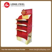 retail store cardboard display box, paper display stand,POP display