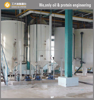 7-10 Tons / Day Crude Palm Oil Refining Machine