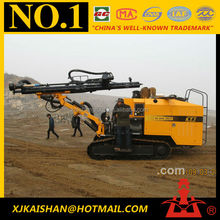 KT7 Integrated Crawler hydraulic drilling rig machine used borehole dilling machine for sale