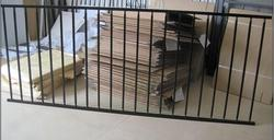 new style and good qulity iron fence models for homes with low price