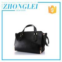 Custom Printing Lowest Cost Brand Pu Handbag With Owned Quarry