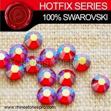 High Quality Swarovski Elements Light Siam SATIN (227 SAT) 10ss Crystal Iron On Hotfix Rhinestone
