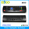 2015 cheap price mx3 2.4GHZ remote air fly mouse for lg smart android tv box