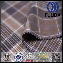 N3720 Polyester rayon spandex yarn dyed woven fabric, small big checks 4way stretched tr fabrics