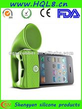 New design amplifier silicone bone collection horn stand