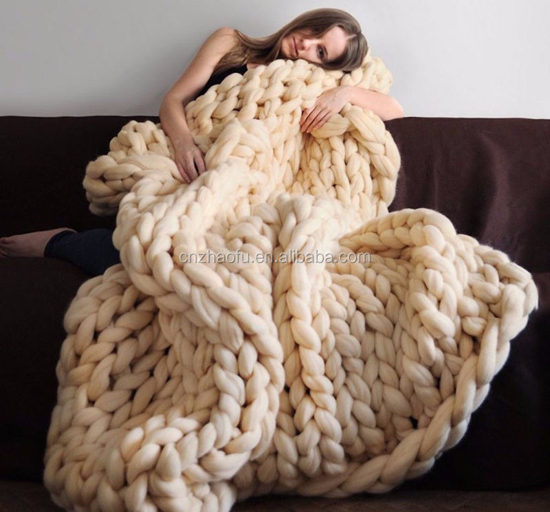 Вязание толстой пряжей для начинающих 2