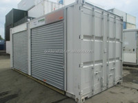 20ft shipping container from china to canada roller shutter door container
