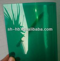 hot salegreen transparent pvc flexible plastic sheet
