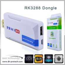 OEM & ODM Android 4.4 smart tv stick RK3288 QUAD Core tv dongle Android 4.4 4k Smart Tv Box Rk3288 Dongle ALIBABpre-install XBMC