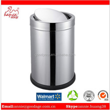High Quality stainless steel waste outside recycling bin 30L
