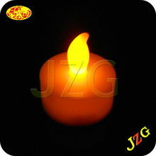 Wholesale electric candle party supplies glow in the dark for home decoration flameless dancing flame led candle