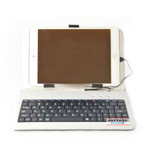 """Venta al por mayor ynk-5 usb inalámbrico 7"""" tableta caso teclado"""