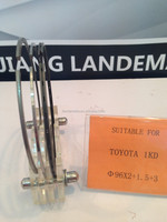 engine part piston ring suitable for TOYOTA 1KD 96MM