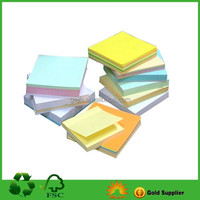 Custom paper block pad and holder for office