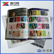Top Quliaty Company Manual Paper Booklet /Catalog/Magazines CMYK Printing; Magazine book printed and design xiamen factory