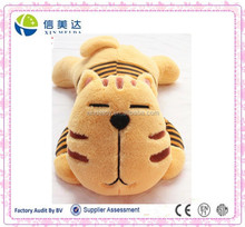 Lazy yellow cat with big head in wholesale stuffed plush toy