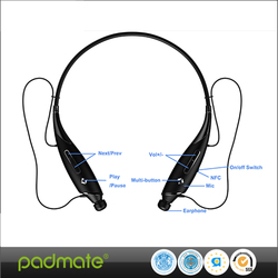 Necklace Bluetooth Stereo Headset Sporty Headphone Wireless Bluetooth 4.1 Music Stereo Headset Earbud X7 With Microphone