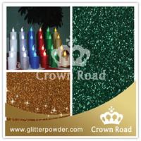 glitter powder used for led solar tea light