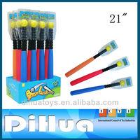 "21"" EVA Kids Toy Baseball Bat With Pellet"