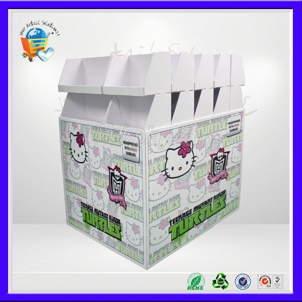 Produrre scaffale di carta, produrre espositori, produrre display merchandising