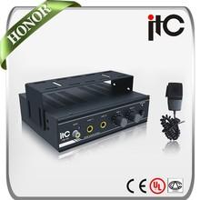 ITC TQ-40 Stylish Dual Channel 40W 4 ohm Mini Car Audio Amplifier