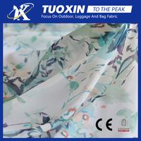 fashion digital printing patterned chiffon fabric /crepe chiffon