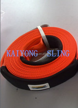 recovery strap/snatch strap with protector