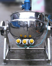 stainless steel steam cooking pot used for packaged meat products
