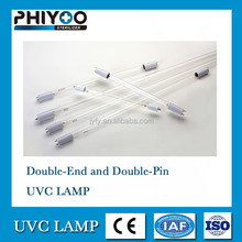 CE approved 80W two ended two pins 185nm UV germicidal lamp