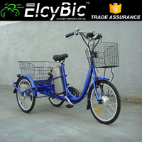 250W motor steel frame motorized tricycles for sale